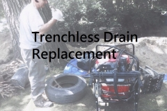 Trenchless drain replacement in Ottawa