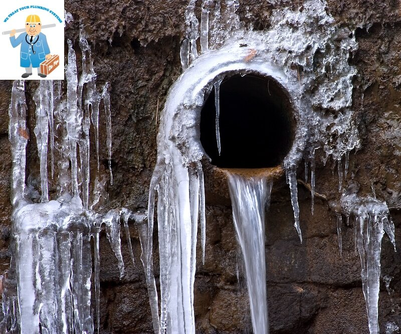 The repair of frozen pipes