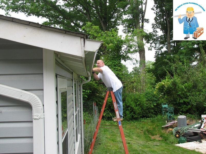 How to Clean Gutters - Guide: Plumber Blog Dr.Pipe Services