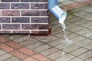 The Cleaning of Floor Drains, Downspouts, and Eavestroughs