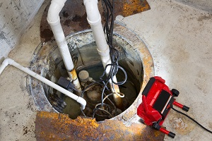 Sump pump repair