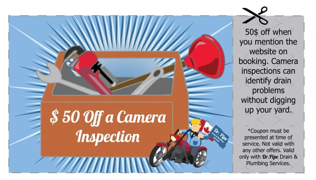 coupon on drain and plumbing services